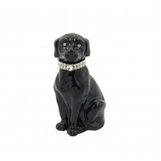 "Статуэтка ""Собака черная"" малая"