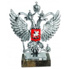 "Скульптура ""Герб РФ"" серебро"
