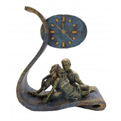 """Скульптура - часы """"Головокружение"""""""