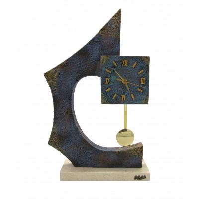 """Скульптура - часы """"Поэтическое настроение"""""""