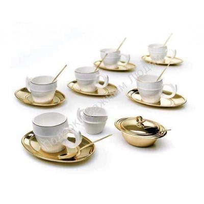 """Набор чайный """"Ricciolo"""" на шесть персон"""