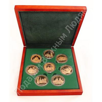 """Набор из 8 медалей """"Святыни православия"""""""