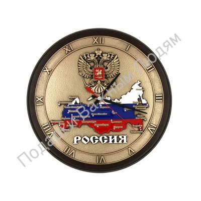 """Часы """"Карта России"""""""