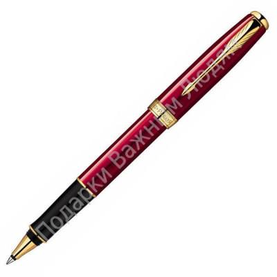 """Ручка - роллер """"Parker Sonnet Laque Red GT"""""""