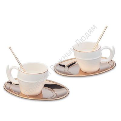 "Набор кофейный ""Ricciolo"" на 2 персоны"