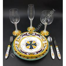 """Набор посуды """"CeramicArte"""" классик"""