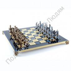 "Шахматы ""Греческая мифология"" blue"