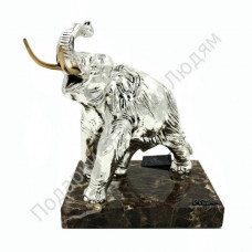 "Скульптура ""Слон"" серебро"