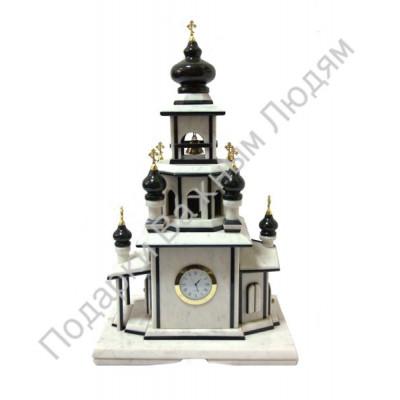 """Часы - статуэтка """"Храм"""""""