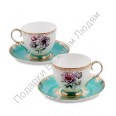 "Чайный набор ""Цветок Неаполя"" (на 2 перс.)"
