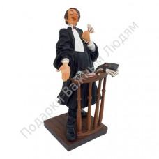 Скульптура «Адвокат»