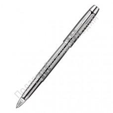 "Ручка Пятый пишущий узел ""Parker IM Premium Shiny Chrome Chiselled"""