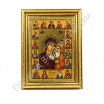 """Икона """"Пресвятая Богородица Казанская. Многообразная"""""""