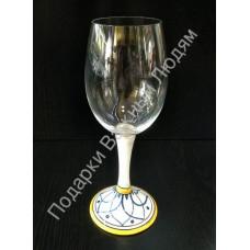 """Бокал для красного вина """"CeramicArte"""" гранат"""