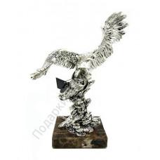 "Скульптура ""Орел"" серебро"