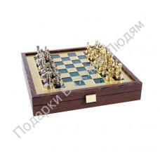 "Шахматы ""Греко-римский период"" blue"