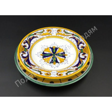"""Тарелка и подтарельник """"CeramicArte"""" классик"""