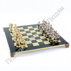 "Шахматы ""Средневековые рыцари"" green"