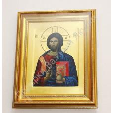 """Икона """"Господь Вседержитель"""" золотофонная"""