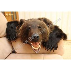 Ковер из шкуры бурого медведя